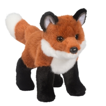 Bushy the Standing Stuffed Red Fox by Douglas