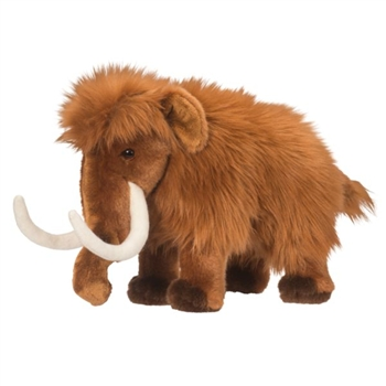 Tundra the Woolly Mammoth Stuffed Animal by Douglas