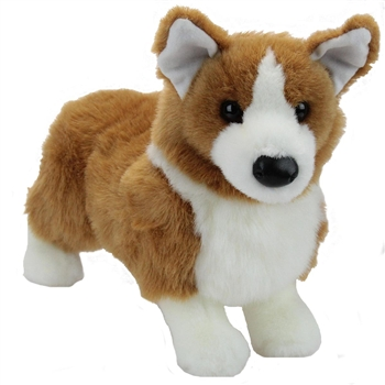 Ingrid the Plush Corgi Puppy by Douglas