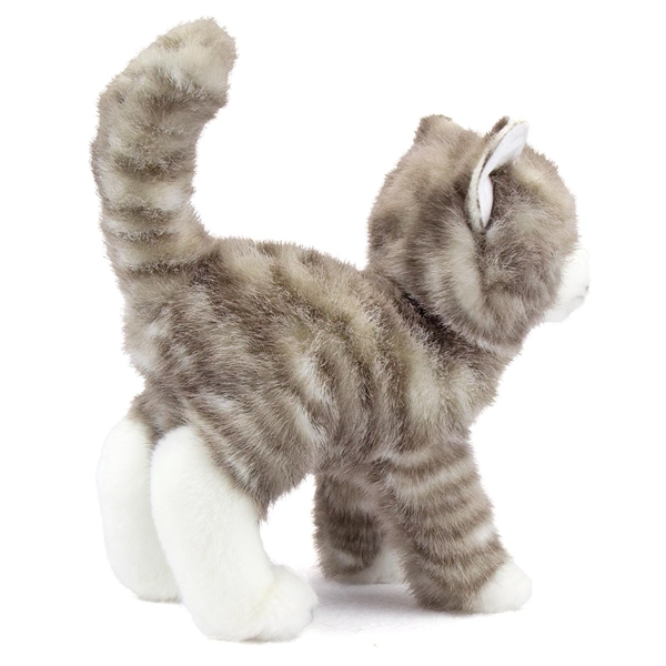 Zipper The Plush Gray Tabby Cat By Douglas At Stuffed Safari