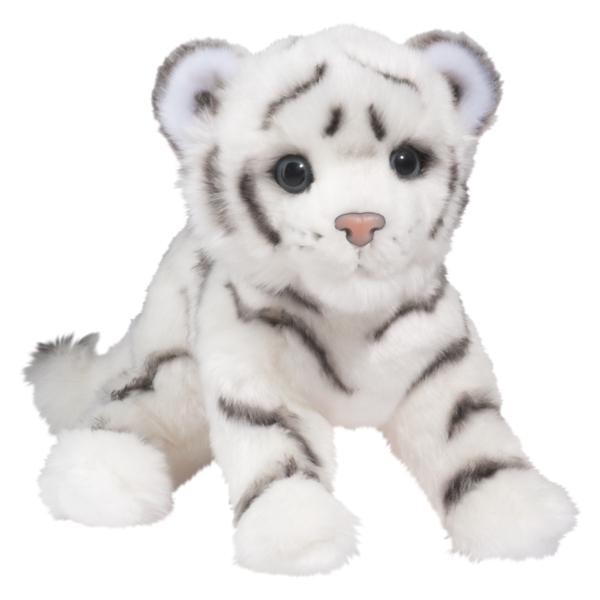 Silky The Plush White Tiger Cub By Douglas At Stuffed Safari