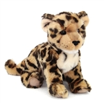 Spatter the Plush Leopard Cub by Douglas