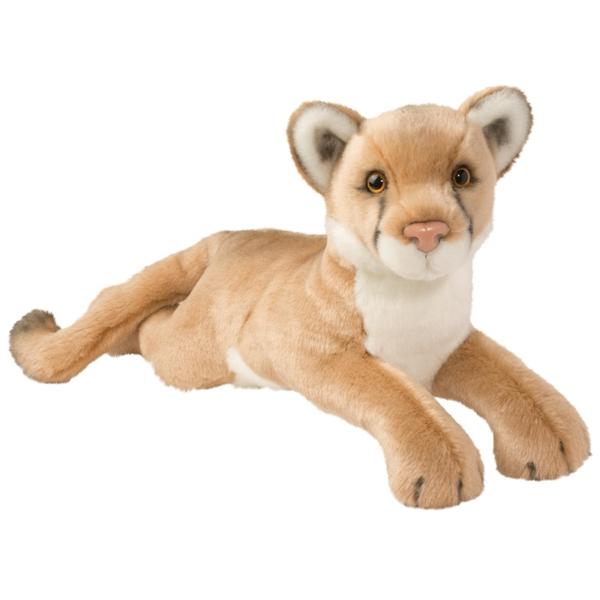 Kelso The Large Plush Mountain Lion Douglas Stuffed Safari