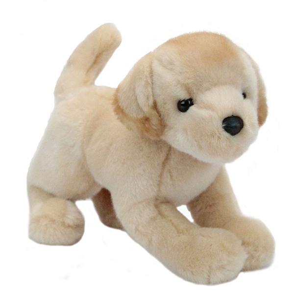 Spankie The 12 Inch Stuffed Yellow Lab Puppy By Douglas At Stuffed