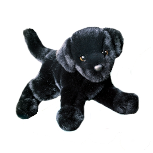 Brewster The 12 Inch Stuffed Black Lab Puppy By Douglas At Stuffed