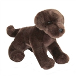 C.C. Bean the 12 Inch Stuffed Chocolate Lab Puppy by Douglas