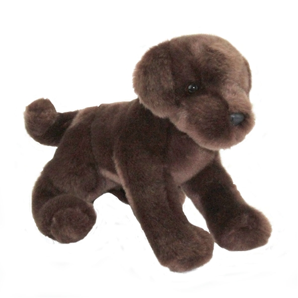 C C Bean The 12 Inch Stuffed Chocolate Lab Puppy By Douglas At