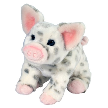 Pauline the Little Plush Spotted Pig by Douglas