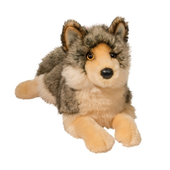 Alder the Wolf Stuffed Animal by Douglas