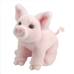 Bettina the Sitting Plush Pig by Douglas
