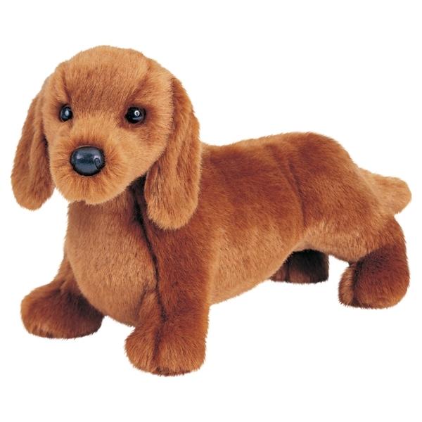Gretel The 12 Inch Stuffed Dachshund Puppy By Douglas At Stuffed Safari
