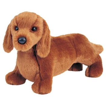 Gretel the 12 Inch Stuffed Dachshund Puppy by Douglas