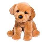 Felix the Floppy Plush Golden Retriever Puppy by Douglas