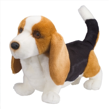 Harold the Plush Basset Hound Puppy by Douglas