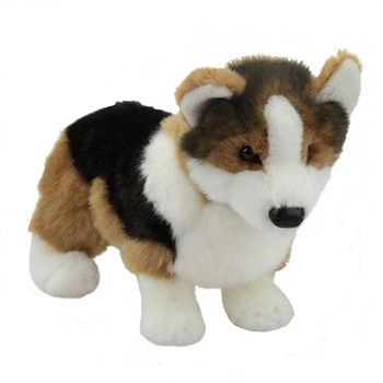 Kirby the Plush Tri-color Corgi Puppy by Douglas