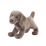 Cassie the Plush Weimaraner Puppy by Douglas
