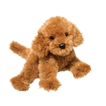 Addie the Plush Caramel Labradoodle Puppy by Douglas