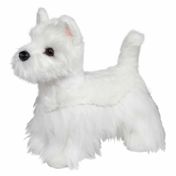 Romeo the Realistic Stuffed Westie by Douglas