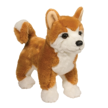 Dunham the Stuffed Shiba Inu Puppy by Douglas