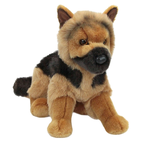 Plush German Shepherd Puppy Douglas Stuffed Safari