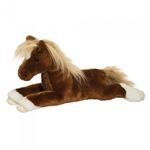 Wrangler the Plush Large Chestnut Horse by Douglas