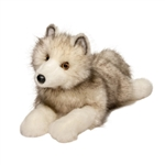 Porter the Plush Arctic Fox by Douglas