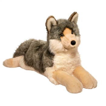Niko the Jumbo Stuffed Wolf by Douglas