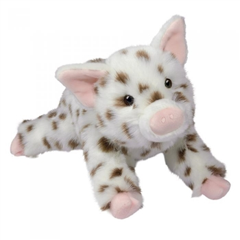 Levi the DLux Plush Spotted Pig by Douglas