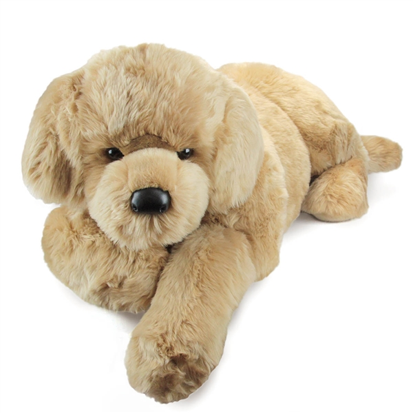 Sherman the Jumbo Stuffed Golden Retriever by Douglas at Stuffed Safari ad03002b371c