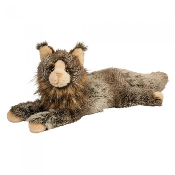 Oscar the DLux Plush Maine Coon Cat by Douglas