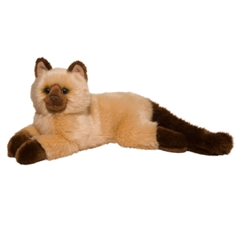 Sebastian the Stuffed Himalayan Cat by Douglas