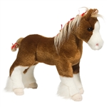 Samson the Standing Stuffed Clydesdale by Douglas