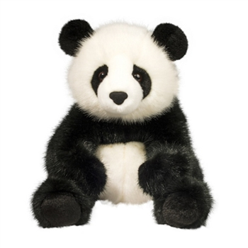 Emmet the Panda Bear Stuffed Animal by Douglas
