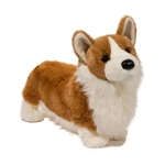 Chadwick the Plush Pembroke Welsh Corgi by Douglas