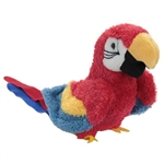 Gabby the Red Plush Parrot by Douglas