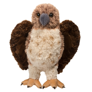 Orion the Red-tailed Hawk Stuffed Animal by Douglas