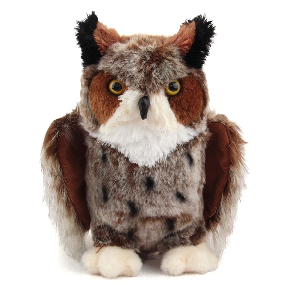 Einstein The Great Horned Owl Stuffed Animal By Douglas At Stuffed