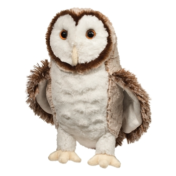 Swoop the Barn Owl Stuffed Animal by Douglas