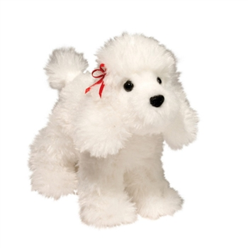 Gina the Little Plush White Poodle by Douglas