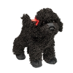 Gigi the Little Plush Black Poodle by Douglas