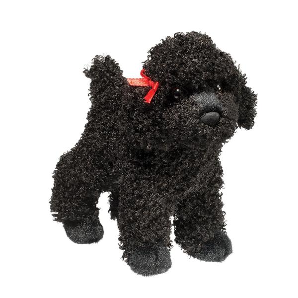 Little Plush Black Poodle Douglas Stuffed Safari
