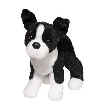 Quincy the Little Plush Boston Terrier by Douglas