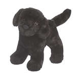 Abraham the Little Plush Black Lab Puppy by Douglas