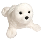 Sprinkles the Little Plush Harp Seal by Douglas