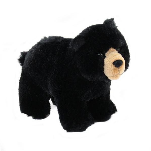 Morley The Standing Plush Black Bear By Douglas At Stuffed Safari