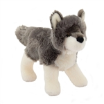 Ashes the Little Plush Wolf by Douglas