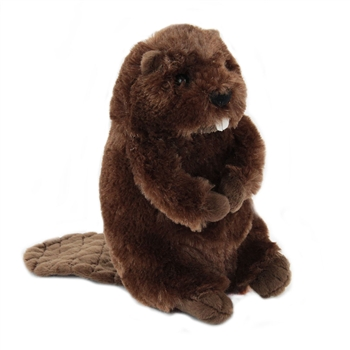 Buddy the Little Plush Beaver by Douglas
