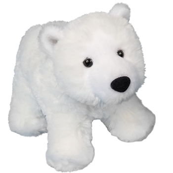 Whitey the Little Plush Polar Bear by Douglas