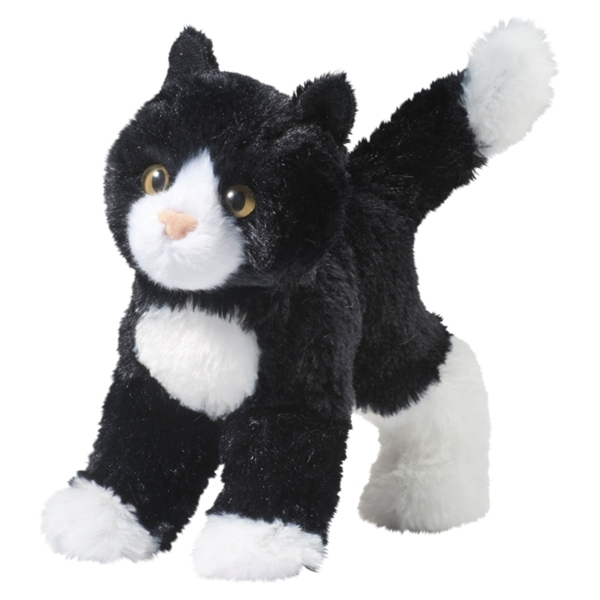Snippy The Little Plush Tuxedo Cat By Douglas At Stuffed Safari