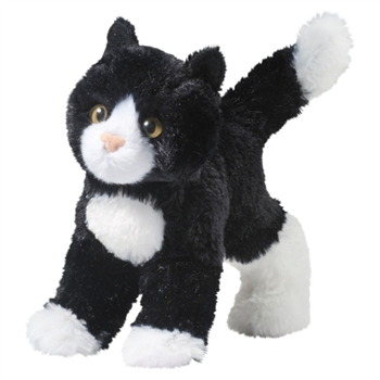 Snippy the Little Plush Tuxedo Cat by Douglas